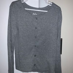 Girls fitted sweater